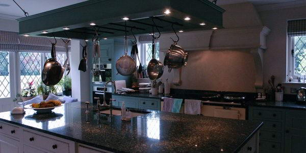 Manor House Kitchen lighting