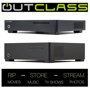 Outclass Dedicated Media Servers