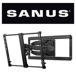 SANUS Large Full Motion TV Mounts