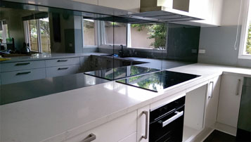 Kitchen Splash back Mirror TV