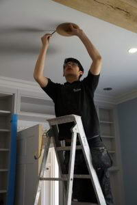 Ceiling speakers install by Finita