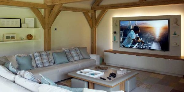 Buckinghamshire Country Retreat Entertainment/Media Room